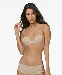 Calvin Klein Sculpted Lightly Lined T-Shirt Bra - Bare