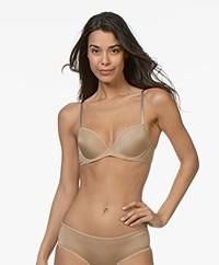 Calvin Klein Seductive Comfort Demi Lift BH - Dune
