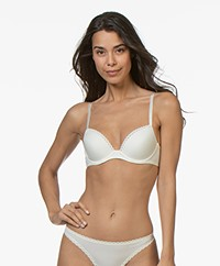 Calvin Klein Seductive Comfort Push-Up Bra - Ivory