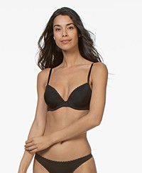 Calvin Klein Seductive Comfort Push-Up Bra - Black