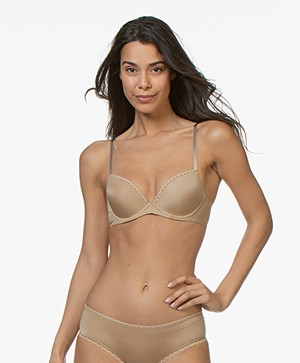 Calvin Klein Seductive Comfort Push-Up Bra- Dune