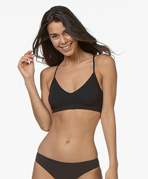 Filippa K Soft Sport Cross-back Bikini Top - Navy