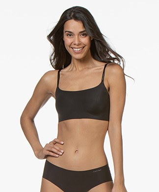Calvin Klein Invisibles Lightly Lined Bralette - Black