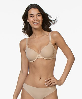 Calvin Klein Invisibles T-Shirt Bra - Bare