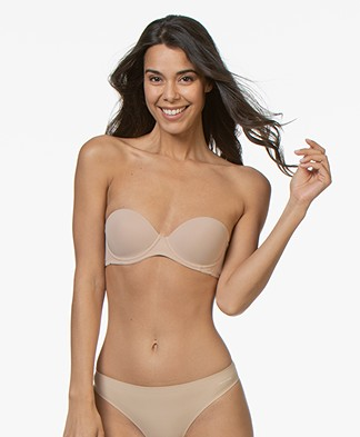 Calvin Klein Perfectly Fit Strapless Bra - Bare