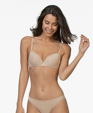 Calvin Klein Sculpted Demi Lift Bra - Bare
