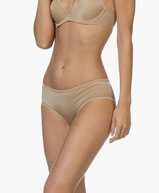 Calvin Klein Seductive Comfort Hipster - Dune