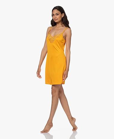 HANRO Irini Stretch Jersey Slip Dress - Sunny
