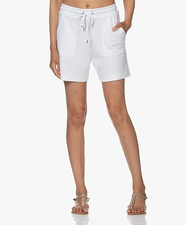JapanTKY Fayo Lyocell Blend Jersey Shorts - White