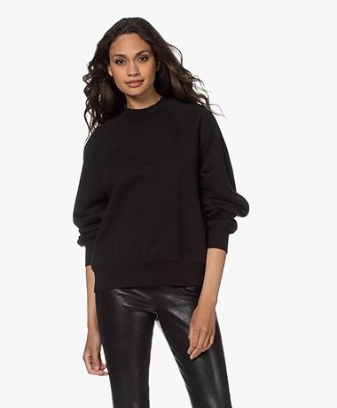 Drykorn Renesme Katoenen Sweatshirt - Zwart