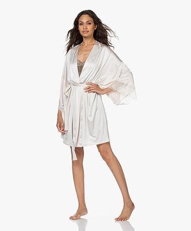 HANRO Irini Stretch Jersey Kimono - Fullmoon