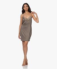 HANRO Irini Stretch Jersey Slip Dress - Seagrass