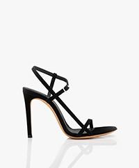 IRO Gizia Suède Sandalen met Hak - Zwart