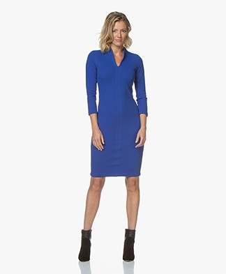 Kyra & Ko Joni Knee-length Jersey Dress - Blue