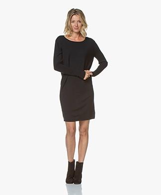 Sibin/Linnebjerg Ella Merino Sweater Dress - Navy