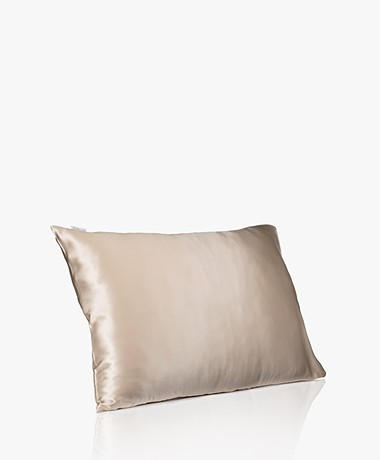 By Dariia Day Mulberry Silk Pillow Case - French Beige