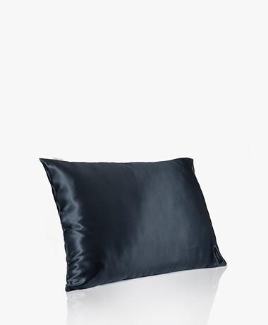 By Dariia Day Mulberry Silk Pillow Case - Midnight Black