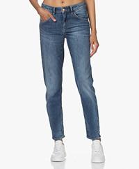 Drykorn Like Girlfriend Stretch Jeans - Blauw
