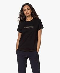 Zadig & Voltaire Zoe Citation Woman T-shirt - Black