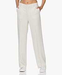 Filippa K Hutton Crepe Pants - Ivory