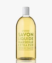 Compagnie de Provence Refill 1000ml Marseille Soap - Fresh Verbena