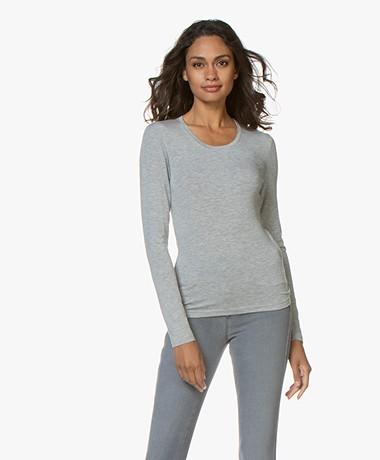 Belluna Ray Modal Long Sleeve - Light Grey