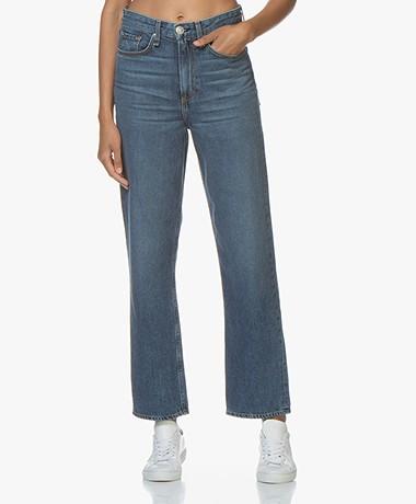 Rag & Bone Ruth Super High-Rise Straight Jeans - Baywater