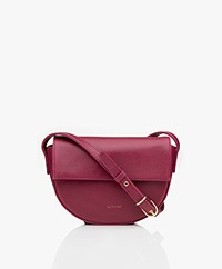 Matt & Nat Rith Vintage Saddle Shoulder-/Cross-body Bag - Garnet