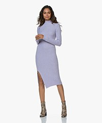 By Malene Birger Meggie Asymmetrical Knitted Dress - Cool Lavender
