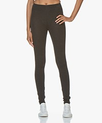 Majestic Filatures Soft Touch Jersey Leggings - Anthracite Melange