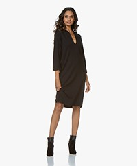 by-bar Gina Dress Punto Jersey Dress - Black