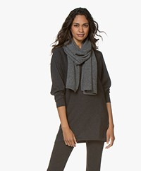 Repeat Basic Cashmere Sjaal - Medium Grijs