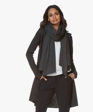Woman by Earn Do Wool Scarf - Dark Grey