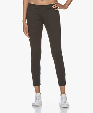 Woman by Earn Bobbi Punto di Roma Slim-fit Pants - Dark Grey
