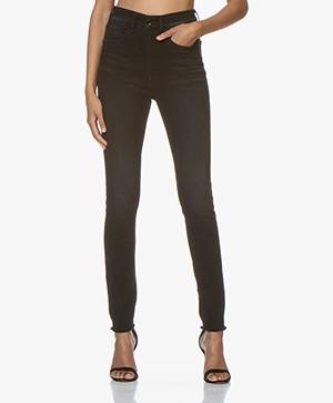 Rag & Bone Jane Super High-Rise Skinny Jeans - Zwart