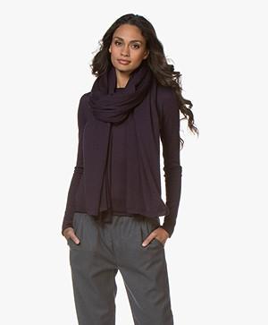 Woman by Earn Do Wool Scarf - Grape