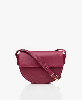 Matt & Nat Rith Vintage Saddle Schouder-/Cross-body Tas - Garnet
