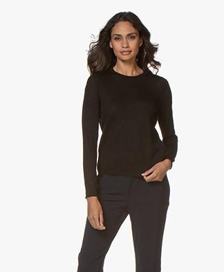 Josephine & Co Goldie Lurex Sweater - Black
