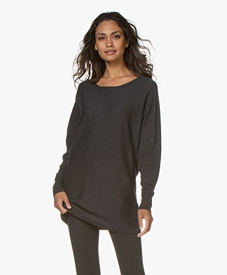 Filippa K Soft Sport Knit Layer Top - Antraciet
