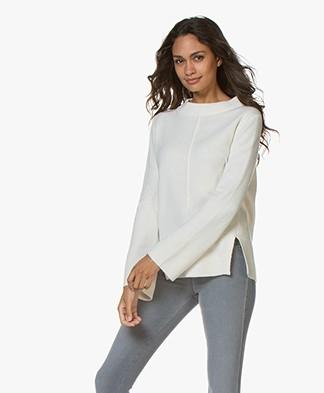 Josephine & Co Graham Wool Blend Sweater - Ecru