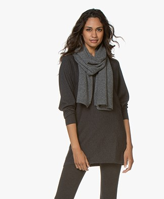 Repeat Cashmere Sjaal - Medium Grijs