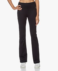 Filippa K Soft Sport Trumpet Flared Leggings - Black