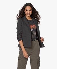 Drykorn Selsey Tailored Blazer - Phantom Grey