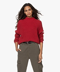by-bar Nina Susi Alpaca and Wool Blend Sweater - Salsa