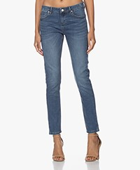 MKT Studio The Bardot Wilson Slim-fit Jeans - Light Blue Clapton Wash