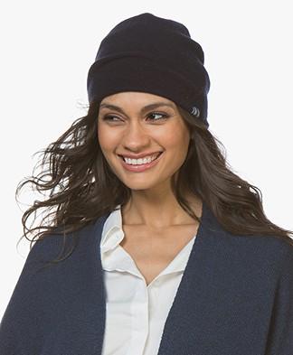 extreme cashmere N°77 Bijou Beanie - Navy