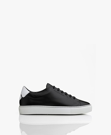 By Malene Birger Sandie Leather Sneakers - Black