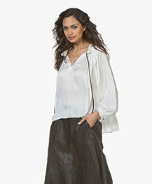 Zadig & Voltaire Theresa Satin Blouse - Judo