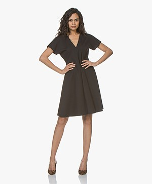 Drykorn Deliah A-line Dress - Black