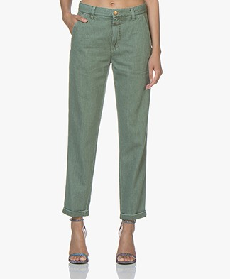 Closed Franck Straight Jeans - Dark Green